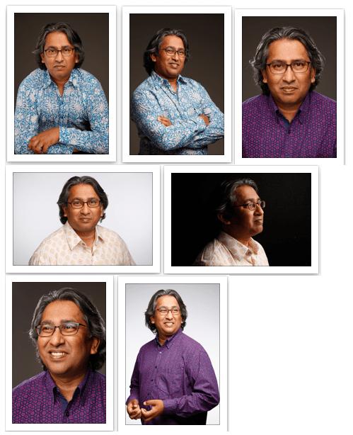 Was Rahman Author contact sheet